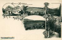 Keudelstein - Mehrbildkarte von Oscar Tellgmann