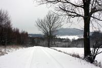 """Blick vom ehemaligen """"Kolonnenweg"""" zum Hülfensberg"""