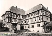 Keudelstein - Blick vom Innenhof zum Herrenhaus