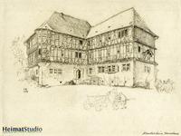Keudelstein - Zeichnung des Herrenhauses