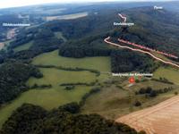 Luftbild 1 - Standpunkt des Keudelsteins & Umgebung