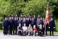 Gruppenbild der Lengenfelder Feuerwehr