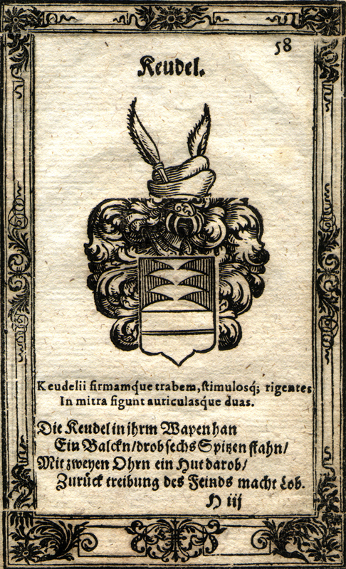 Keudel-Wappen