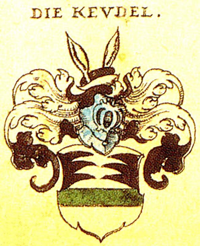 Keudell-Wappen aus Siebmachers Wappenbuch